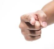 ręka wskazuje na ciebie obraz royalty free