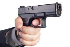 Ręka z pistoletem Zdjęcie Royalty Free