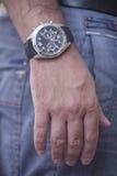 Ręka zegar Obraz Stock