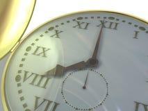 ręka zegara Obrazy Royalty Free