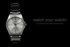 ręka zegarek Fotografia Royalty Free