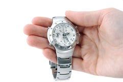 ręka zegarek Zdjęcia Stock