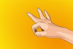 Ręka znak Zdjęcie Stock