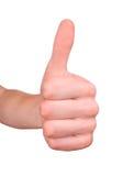 ręka znak sukces Obraz Royalty Free