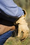 rękawice pracy Fotografia Royalty Free