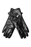 rękawiczki czarny skóra Zdjęcia Royalty Free