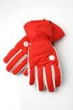 rękawiczki narta Fotografia Royalty Free