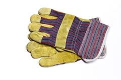rękawiczki praca Obraz Stock
