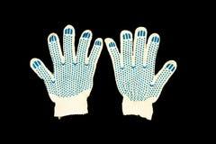 rękawiczki praca Zdjęcie Royalty Free
