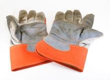 rękawiczki praca Zdjęcie Stock