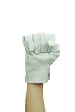 rękawiczkowa praca obraz stock