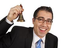 ręki dzwonkowy dzwonienie Fotografia Stock