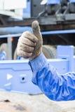 Ręki i palca znak Obrazy Royalty Free