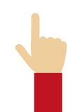 ręki ikony projekt Zdjęcia Royalty Free