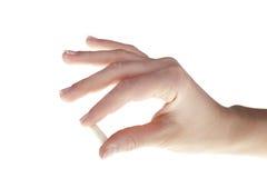 ręki istoty ludzkiej pastylki Fotografia Royalty Free