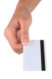 ręki karciana kredytowa kobieta s Zdjęcia Royalty Free