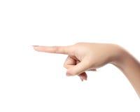 Ręki macania ekran Fotografia Stock
