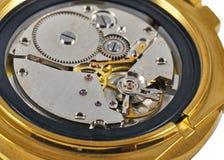 ręki mechanizmu zegarek Obrazy Stock