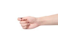 ręki menniczy podrzucanie Zdjęcie Stock