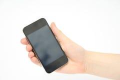 Ręki mienia smartphone, telefon komórkowy Zdjęcie Royalty Free
