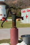 Ręki pompa wodna - retro styl Obraz Stock