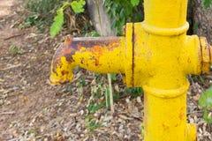 Ręki pompa wodna - retro styl Zdjęcie Stock