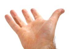 ręki samiec Obraz Stock