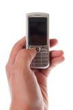 ręki telefon komórkowy Zdjęcie Royalty Free