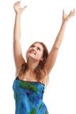 ręki up kobiety Zdjęcie Stock