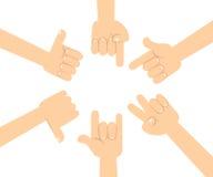 Ręki w akcjach Zdjęcie Stock