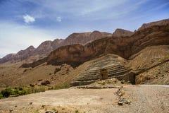 R704. Landscape view along the Dadès Valley, Boulmane Dadès, Morroco Royalty Free Stock Photos