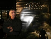 R. Lee Ermey. HOLLYWOOD, CALIFORNIA. Thursday October 5, 2006. R. Lee Ermey attends the Los Angeles Premiere of `The Texas Chainsaw Massacre: The Beginning` held Stock Photos