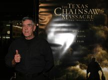 R. Lee Ermey. HOLLYWOOD, CALIFORNIA. Thursday October 5, 2006. R. Lee Ermey attends the Los Angeles Premiere of `The Texas Chainsaw Massacre: The Beginning` held Stock Image