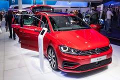 R-linha de Volkswagen Sportsvan no IAA 2015 Imagens de Stock