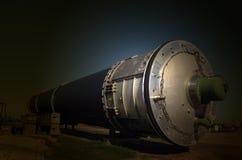 R-36M2 Voevoda SS-18 Mod5/Mod6洲际弹道导弹ICBM GRAU 15A18北约名字SS-18撒旦 库存图片