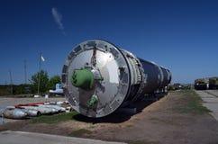 R-36M2 Voevoda SS-18 Mod5/Mod6 för NATO-namn SS-18 för interkontinental ballistisk missil ICBM GRAU 15A18 Satan Royaltyfri Bild