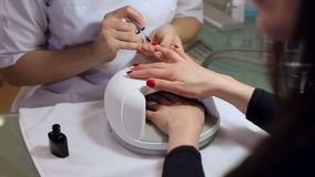 r manicure video d archivio