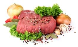rå meat Arkivbild