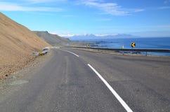 R1 na Iceland Zdjęcia Royalty Free