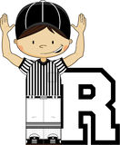 R is for Referee Stock Images