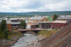 R?ros, Noruega Imagenes de archivo
