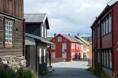 R?ros, Noruega Imágenes de archivo libres de regalías