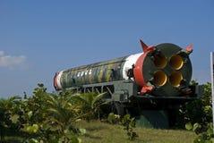 R-12 SS-4火箭,哈瓦那,古巴 库存图片