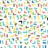 R?sum? sans couture Pale Vintage Color Scribble du filet jaune et d'orrange grand Mark Pattern pour le fond, enveloppe de papier, illustration stock