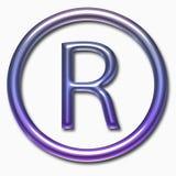 R symbol Stock Photo