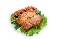 Rôti de porc Image libre de droits