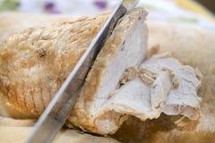 Rôti de porc cuit au four Image stock