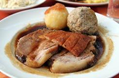 Rôti de porc traditionnel Images stock