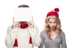R u ready 4 julförsäljningar!? royaltyfri bild