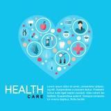 r?wnie? zwr?ci? corel ilustracji wektora Szablon opieki zdrowotnej plakat abstrakcyjny t?o ilustracja wektor